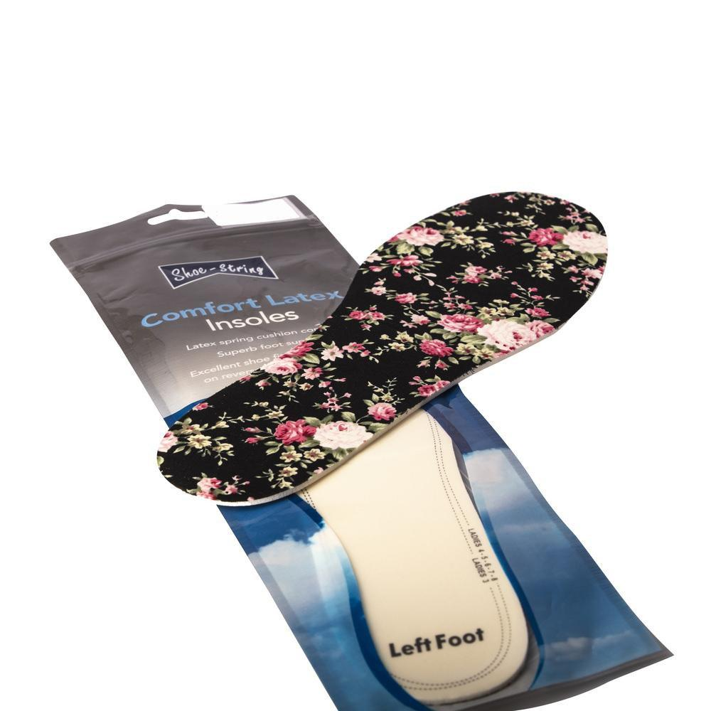 The Spanish Boot Company aftercare products floral insoles Insoles: Floral