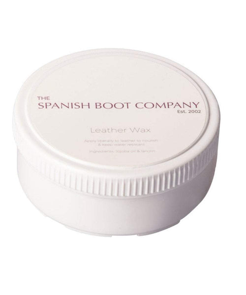 The Spanish Boot Company aftercare products Wax Leather Wax