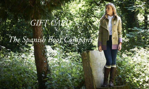 The Spanish Boot Company Gift Card Gift Card