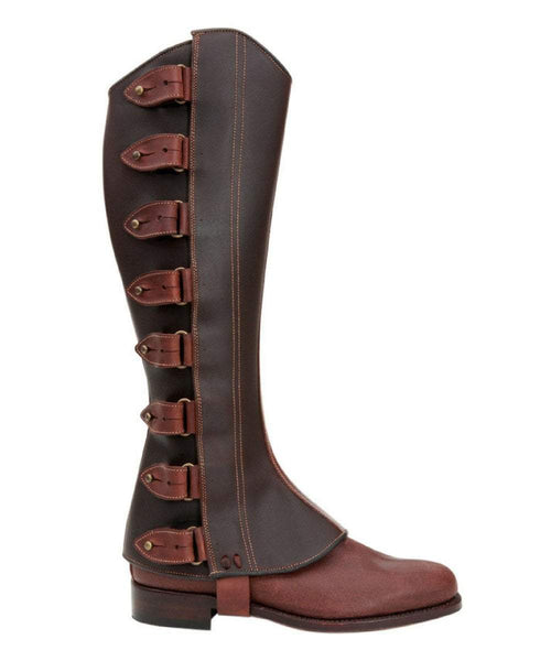 The Spanish Boot Company Half chaps Made to Measure: Polainas/Half Chaps: black, brown or tobacco
