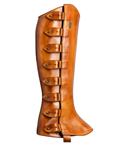 The Spanish Boot Company Half chaps Mens Half Chaps (Polainas): Tobacco