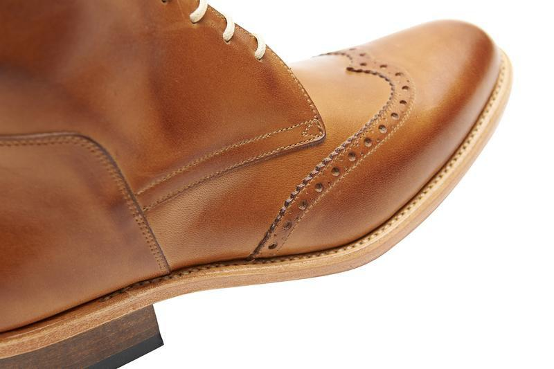 The Spanish Boot Company Leather boots Cordonera Boots: Tobacco