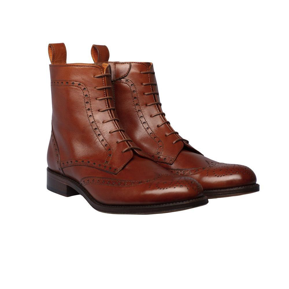 Womens Brogue Ankle Boots | The Spanish