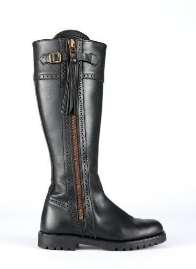 The Spanish Boot Company Leather boots Made to Measure: Spanish Riding Boots classic: black, brown