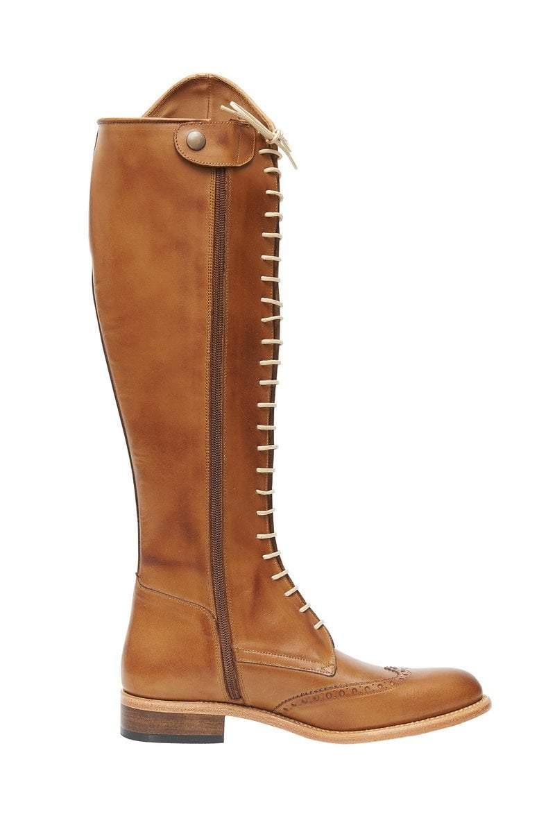 The Spanish Boot Company Leather boots Mens Cordonera Boots: Tobacco