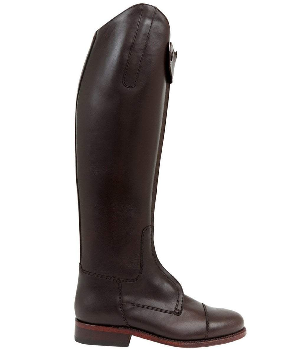 The Spanish Boot Company Leather boots Mens Polo Boots: Brown