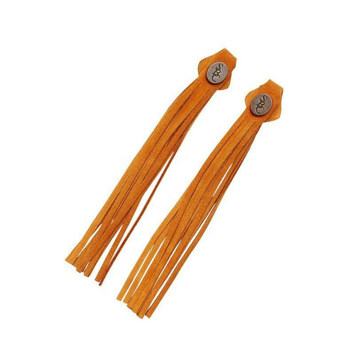 The Spanish Boot Company tassels Tassels - orange suede