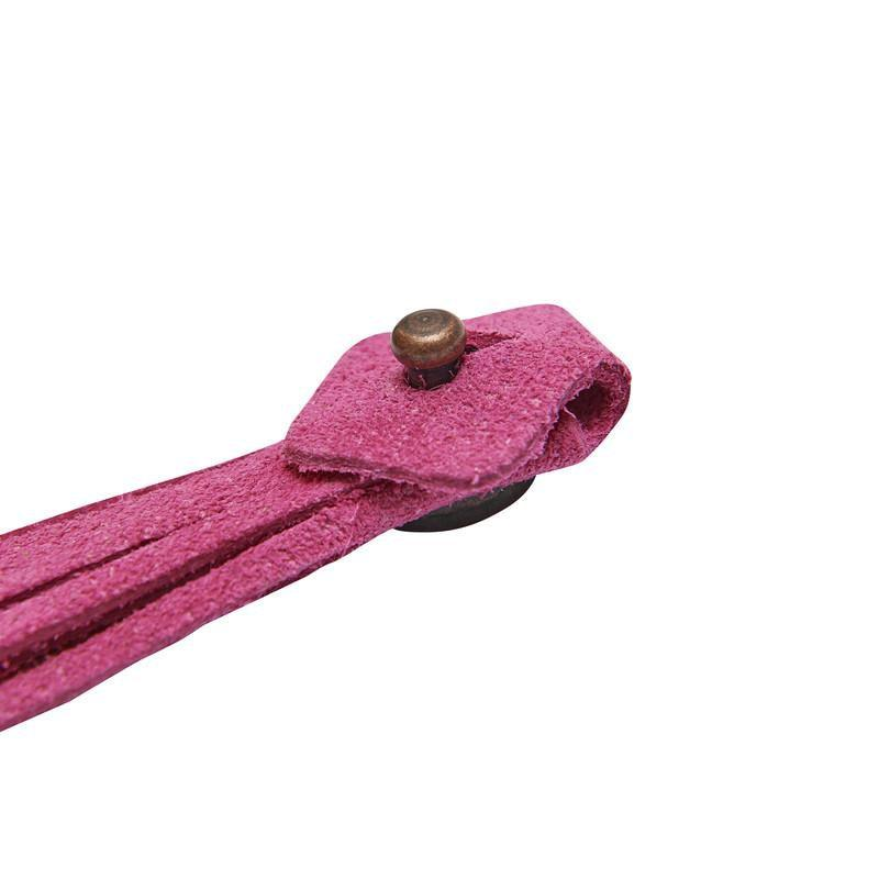 The Spanish Boot Company tassels Tassels - pink suede