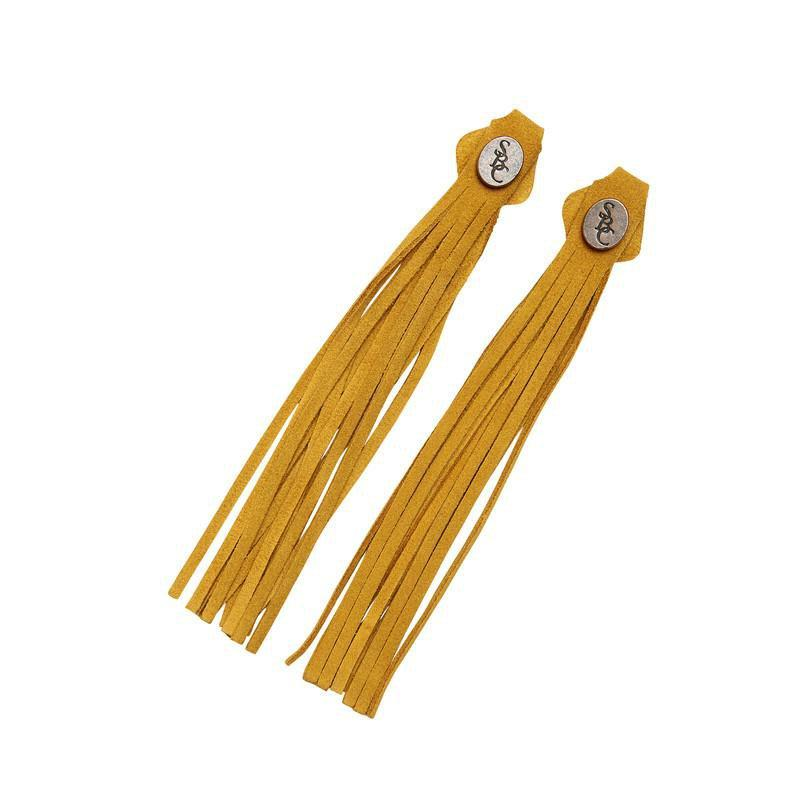 The Spanish Boot Company tassels Tassels - yellow suede