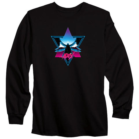 Apex Chrome Long Sleeve - Blk