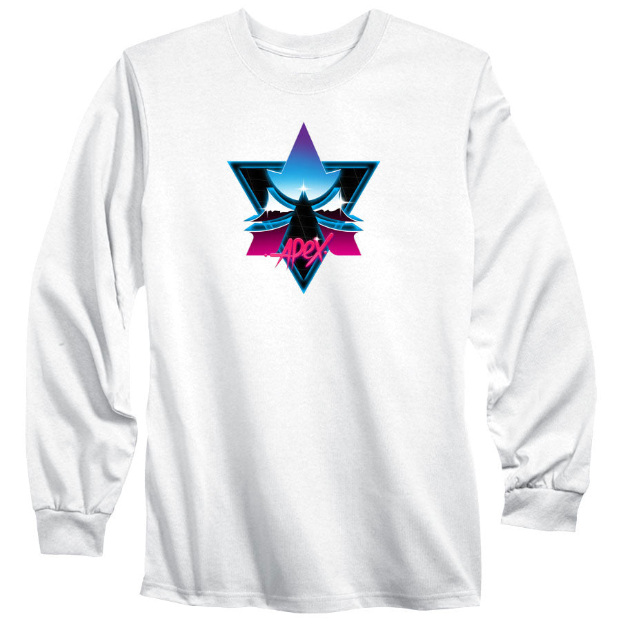 Apex Chrome Long Sleeve - Wht