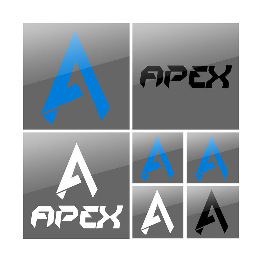 Apex Vinyl Sticker Pack - Assortment
