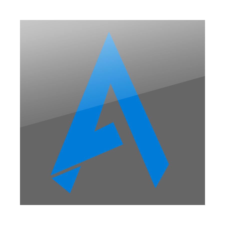 "Apex 9"" Icon Vinyl Sticker - Blue"