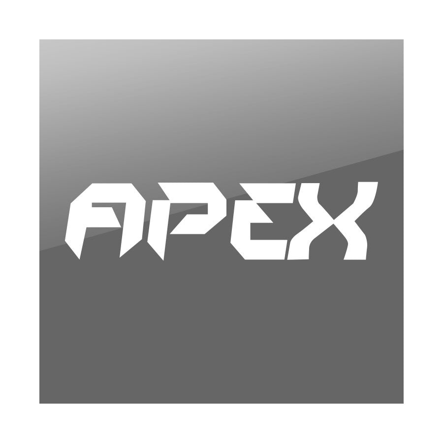 "Apex 11"" Logo Vinyl Sticker - White"