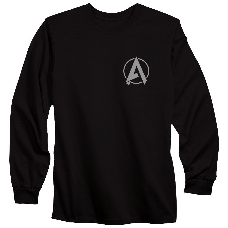 Apex Astral Long Sleeve - Gry on Blk