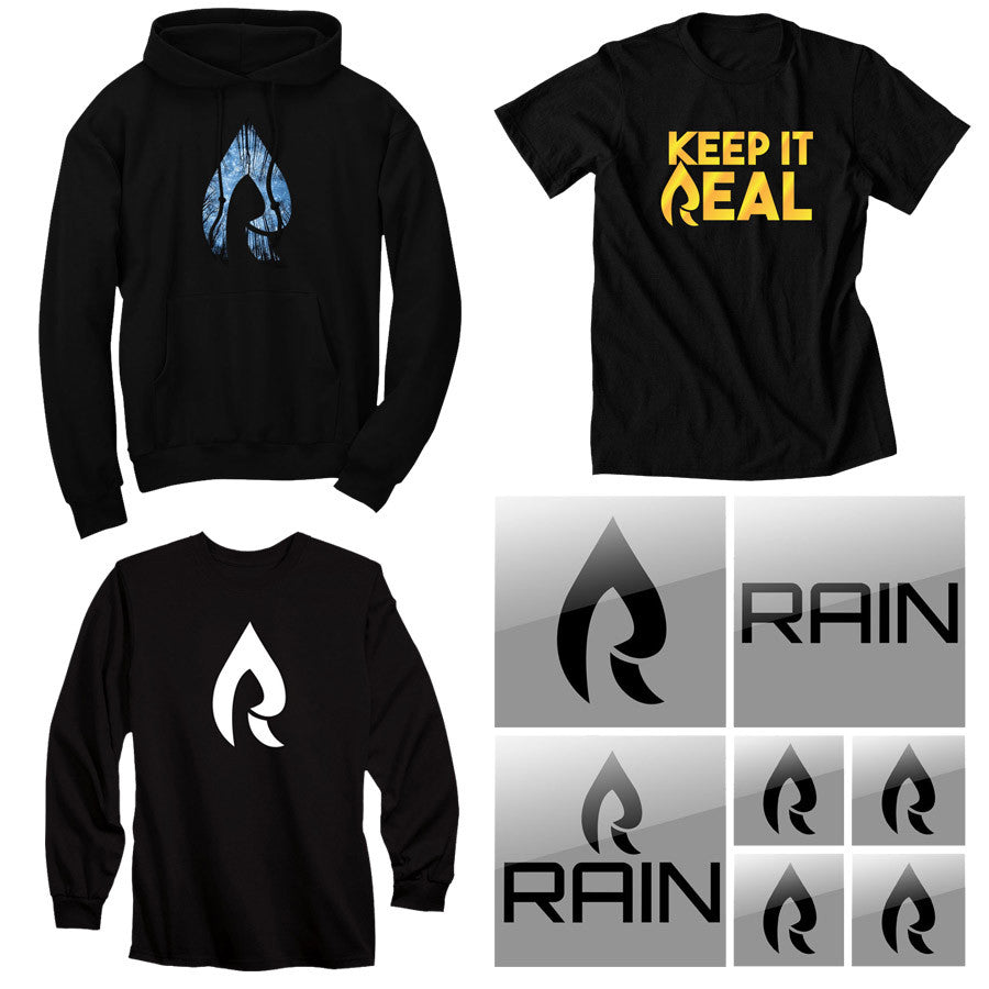 Rain Fan Pack - Black