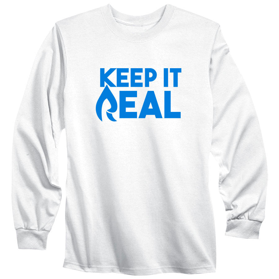 Rain Keep It Real Long Sleeve - NBlu on Wht