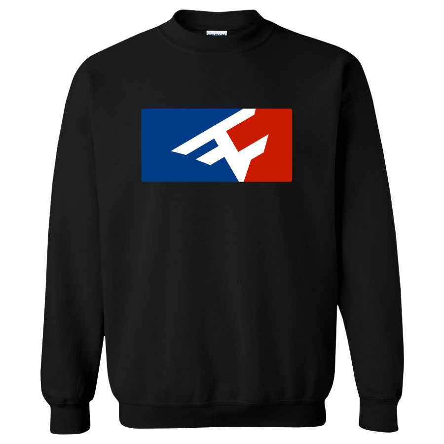 Competitive Crewneck - RWB on Blk