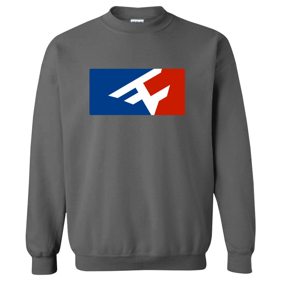Competitive Crewneck - RWB on Chcl