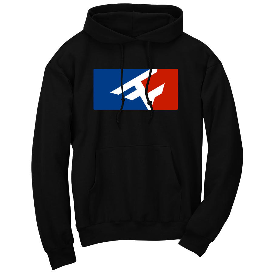 Competitive Hoodie - RWB on Blk