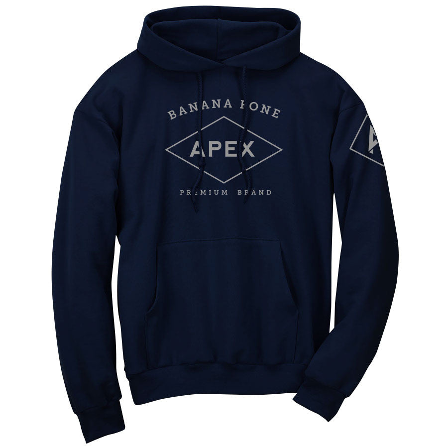 Apex Diamond Hoodie - Gry on Nvy