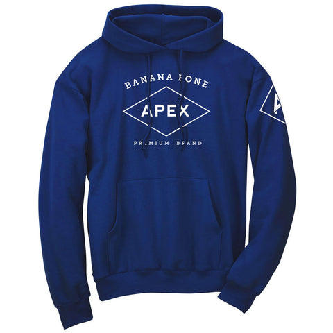 Apex Diamond Hoodie - Wht on Ryl