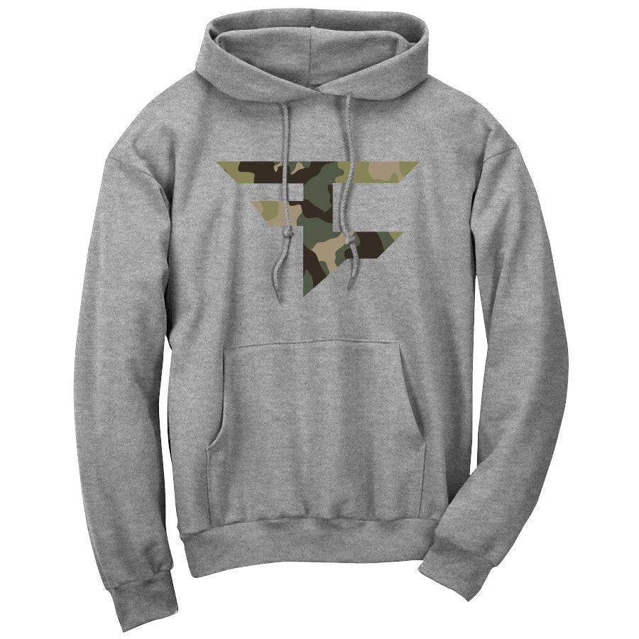 Iconic Hoodie - Camo on SprtGry