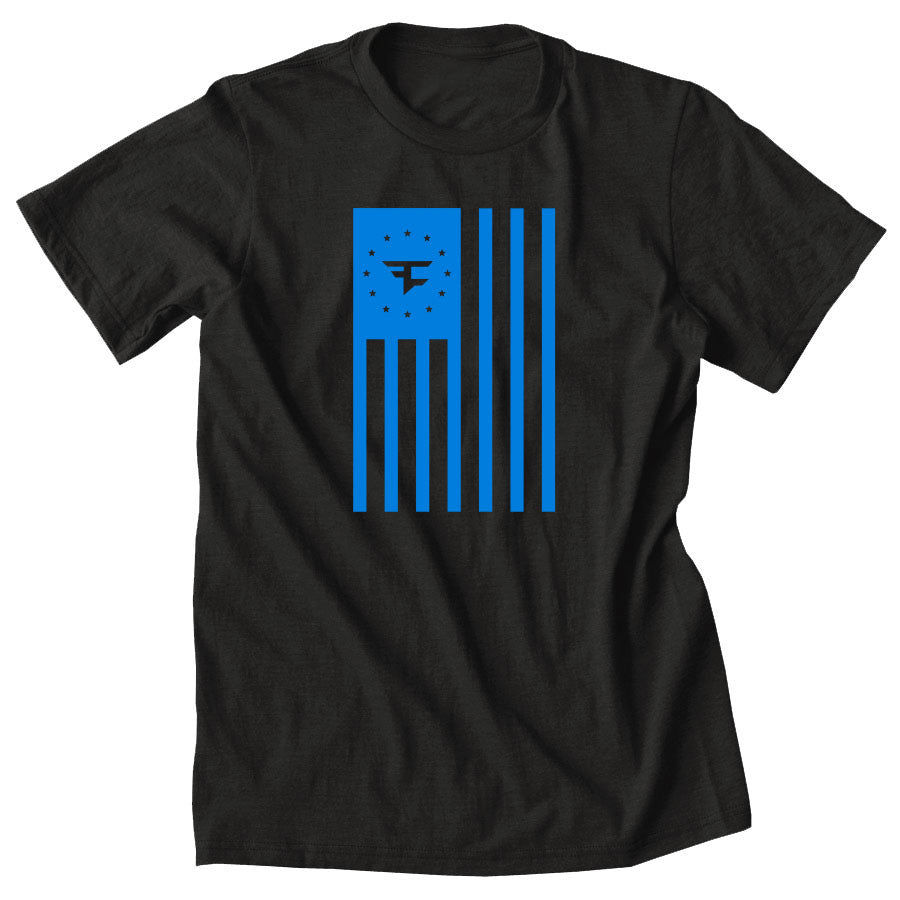Flag Tee - NBlu on Smk