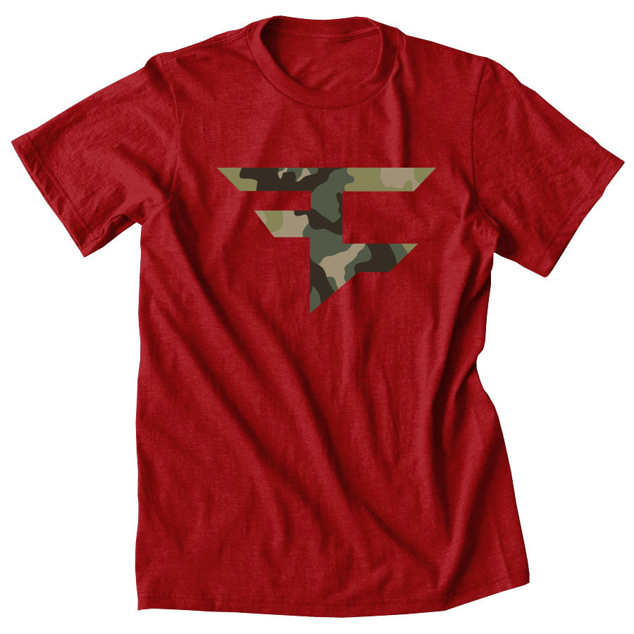 Icon Camo FX Short Sleeve - Red