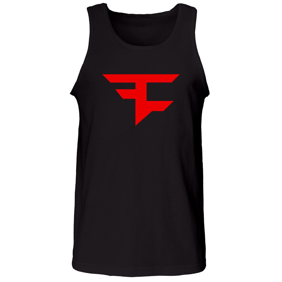Icon Tank Top - Red on Blk