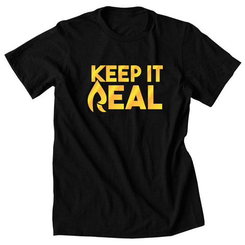 Rain Keep It Real FX Short Sleeve - Gld on Blk