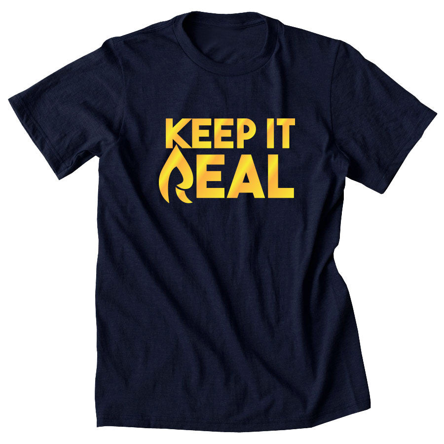 Rain Keep It Real FX Short Sleeve - Gld on Nvy