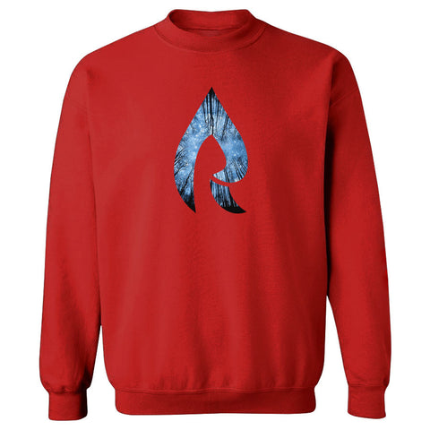 Rain Forest Crewneck - Red