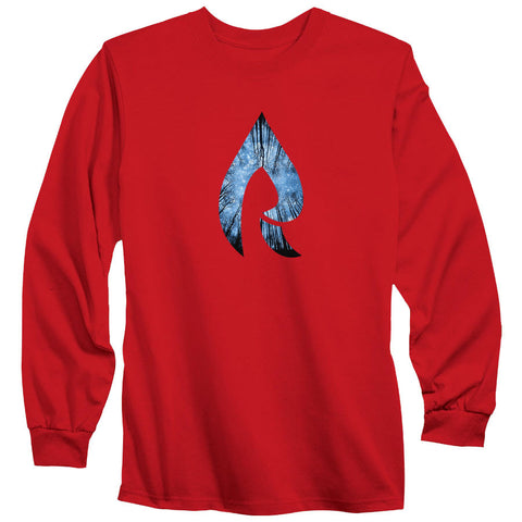 Rain Forest Long Sleeve - Red