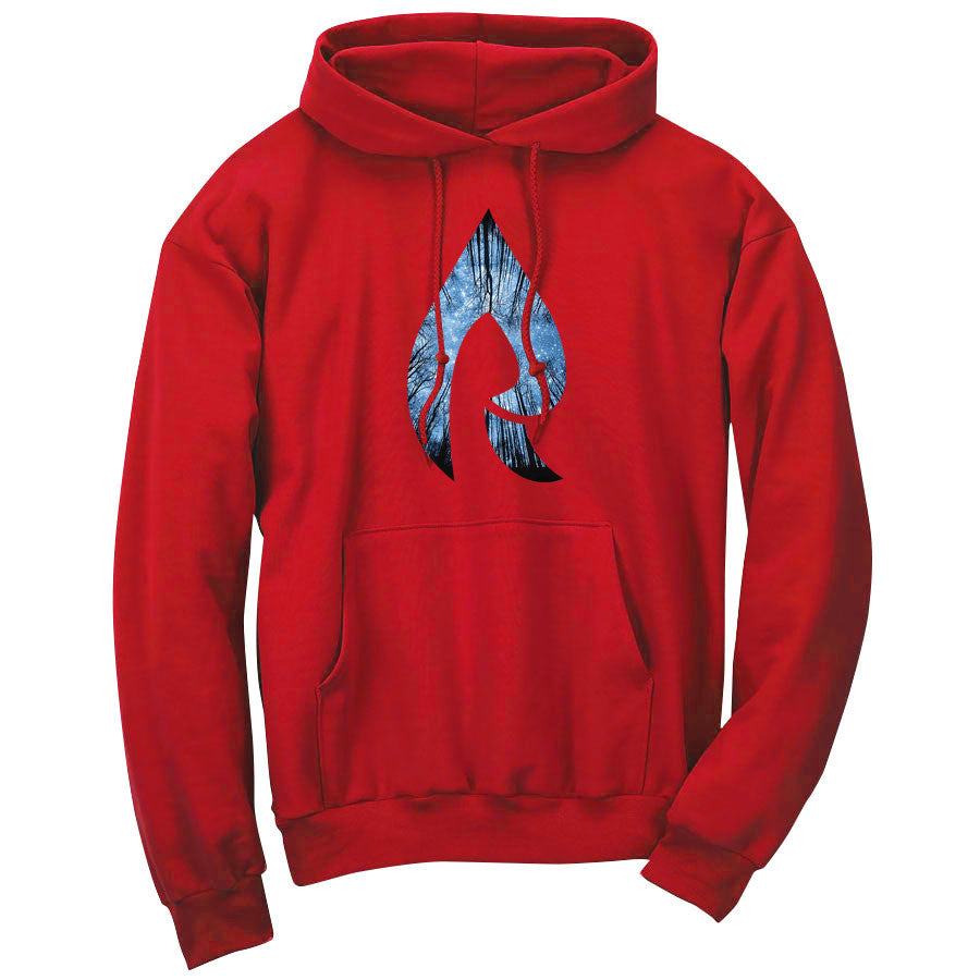 Rain Forest Hoodie - Red