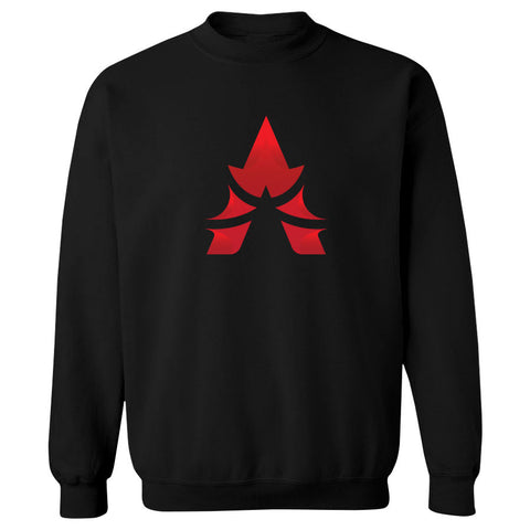 Apex Icon FX Crewneck - Red on Blk