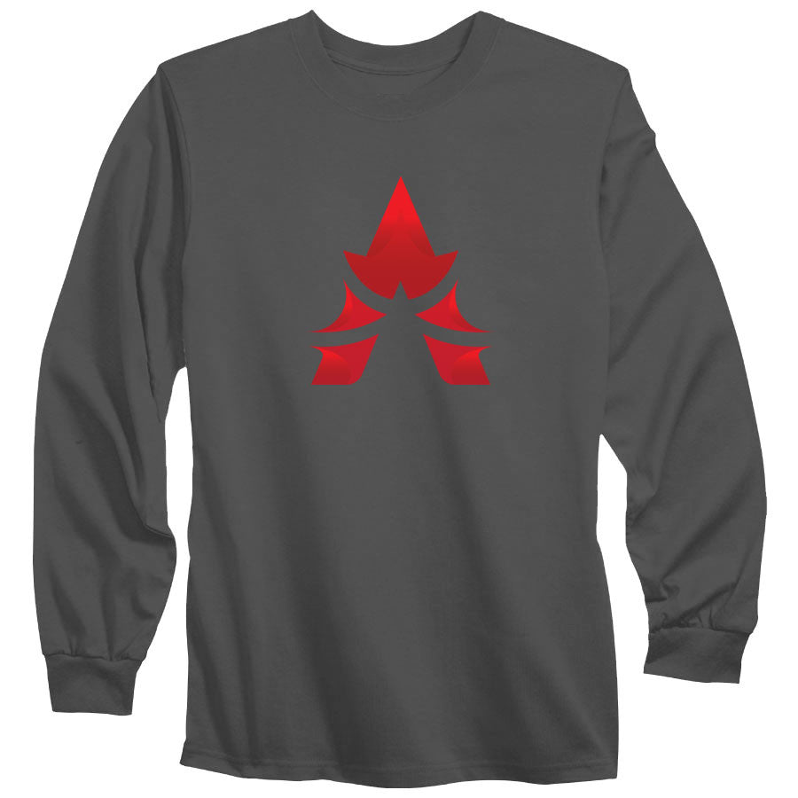 Apex Icon FX Long Sleeve - Red on Chcl