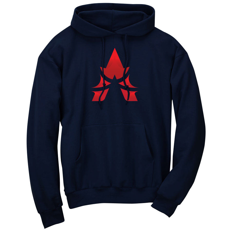 Apex Icon FX Hoodie - Red on Nvy