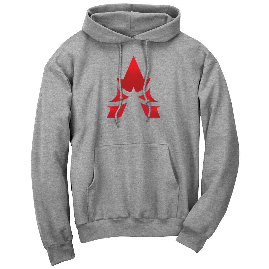 Apex Icon FX Hoodie - Red on SprtGry
