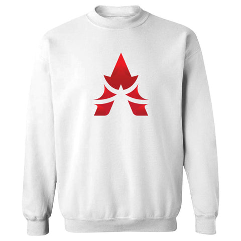 Apex Icon FX Crewneck - Red on Wht