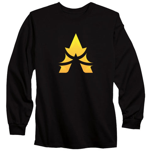 Apex Icon FX Long Sleeve - Yel on Blk