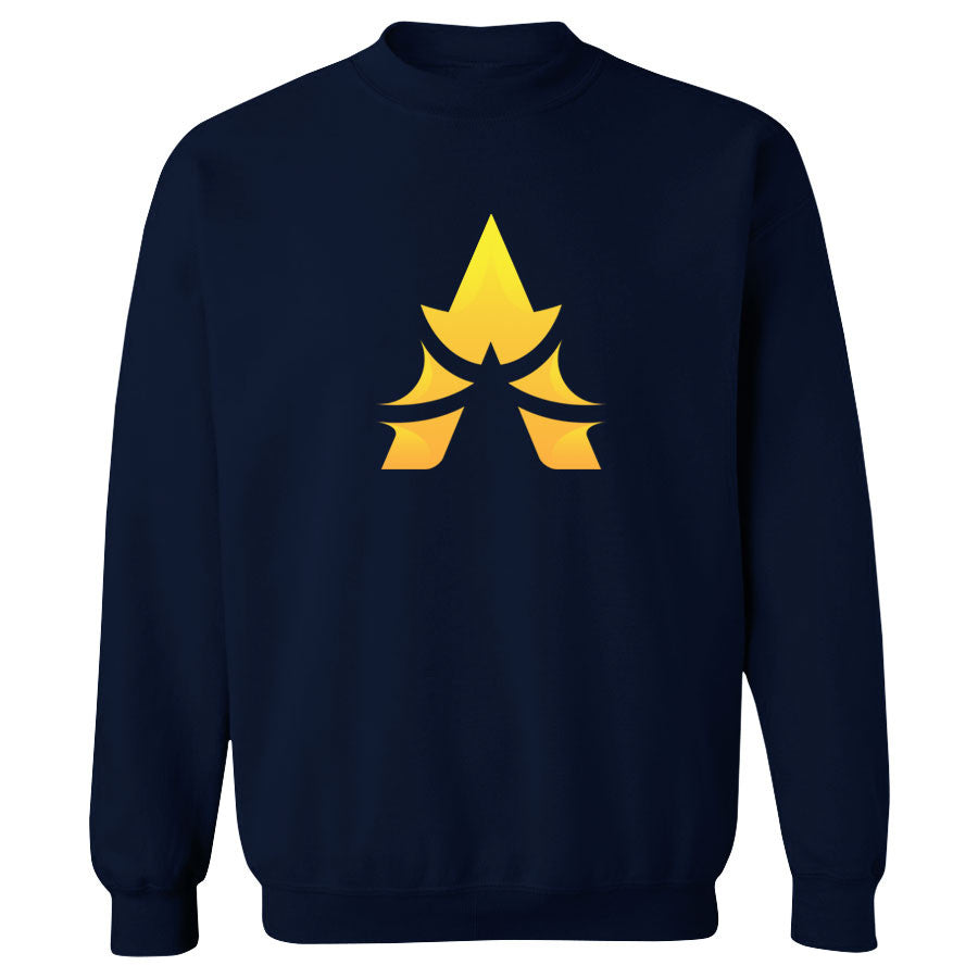 Apex Icon FX Crewneck - Yel on Nvy