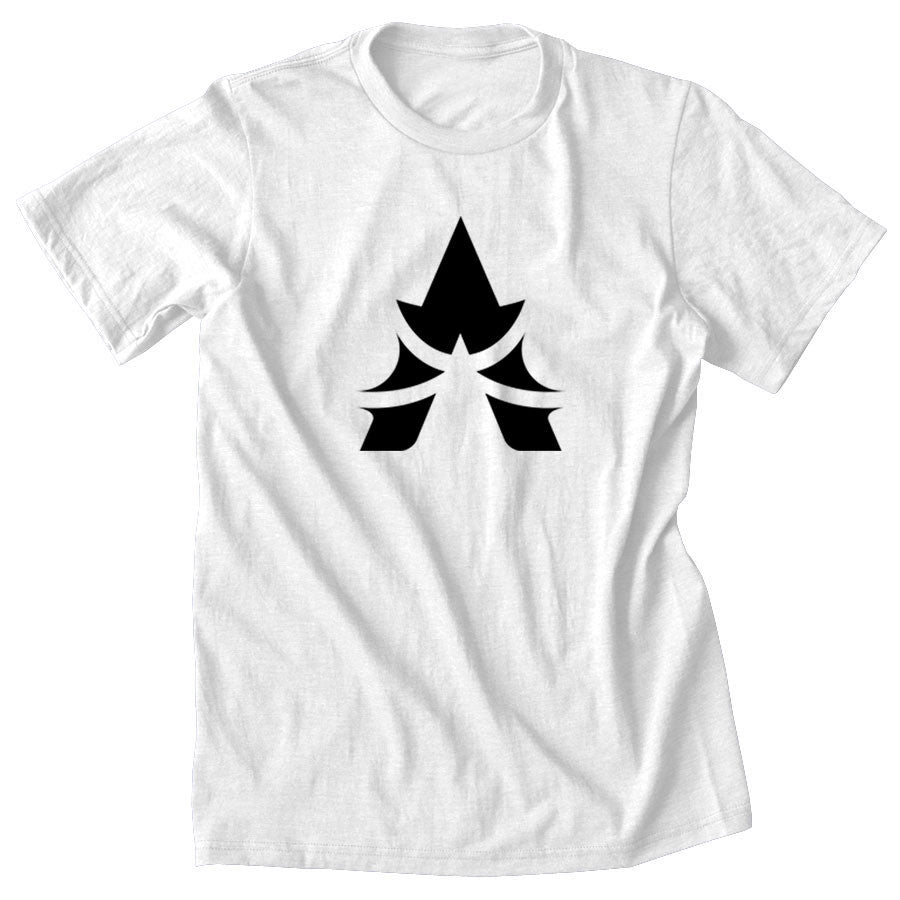 Apex Icon Short Sleeve - Blk on Wht