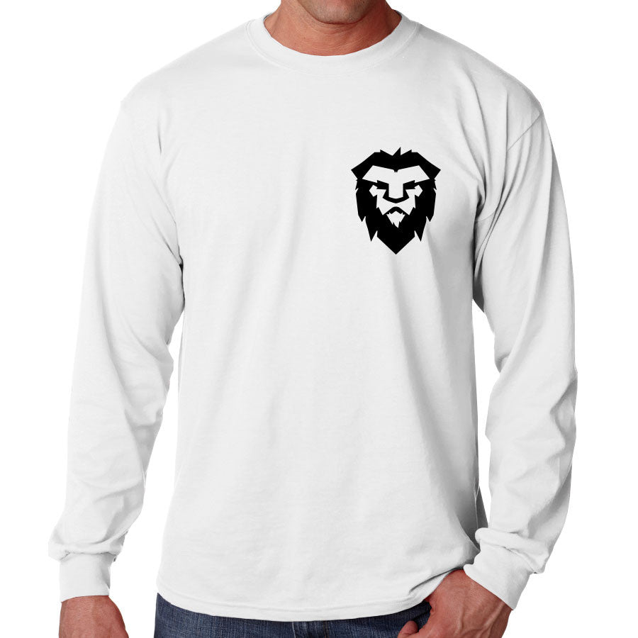 Temperrr Heart Long Sleeve - Blk on Wht