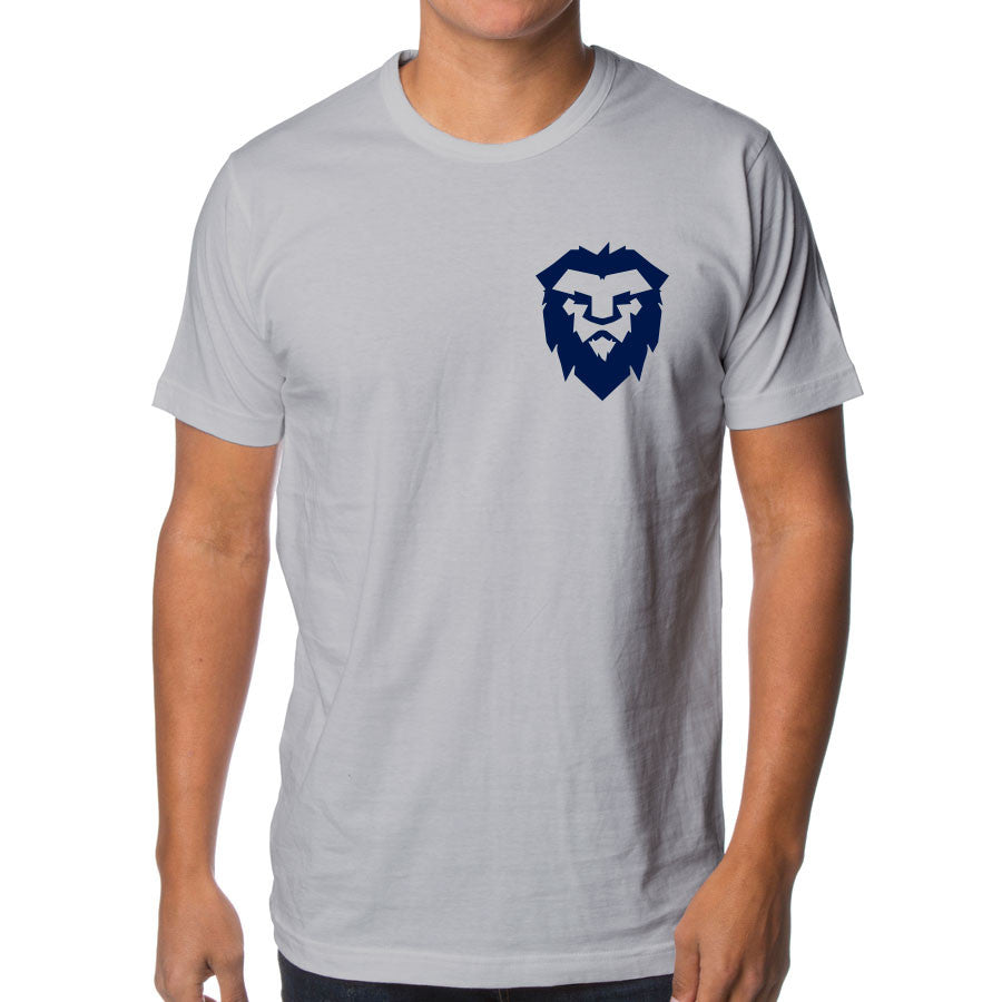 Temperrr Heart Short Sleeve - Nvy on Slv