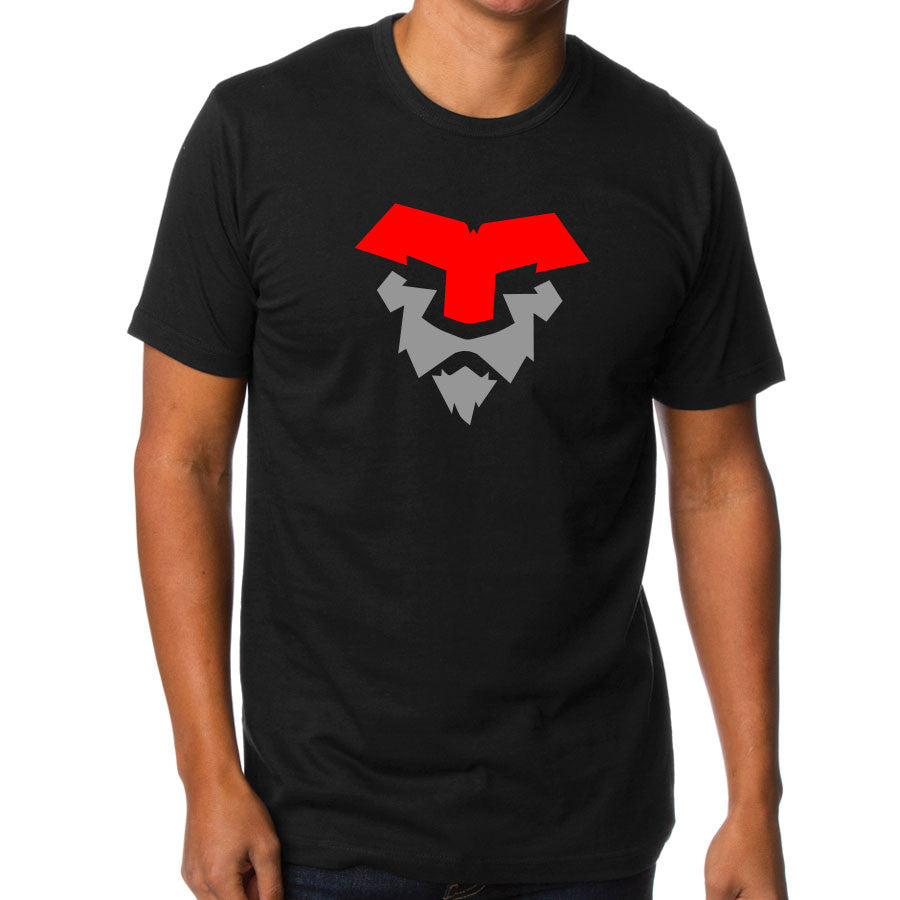 Temperrr Lion Short Sleeve - RedGry on Tar