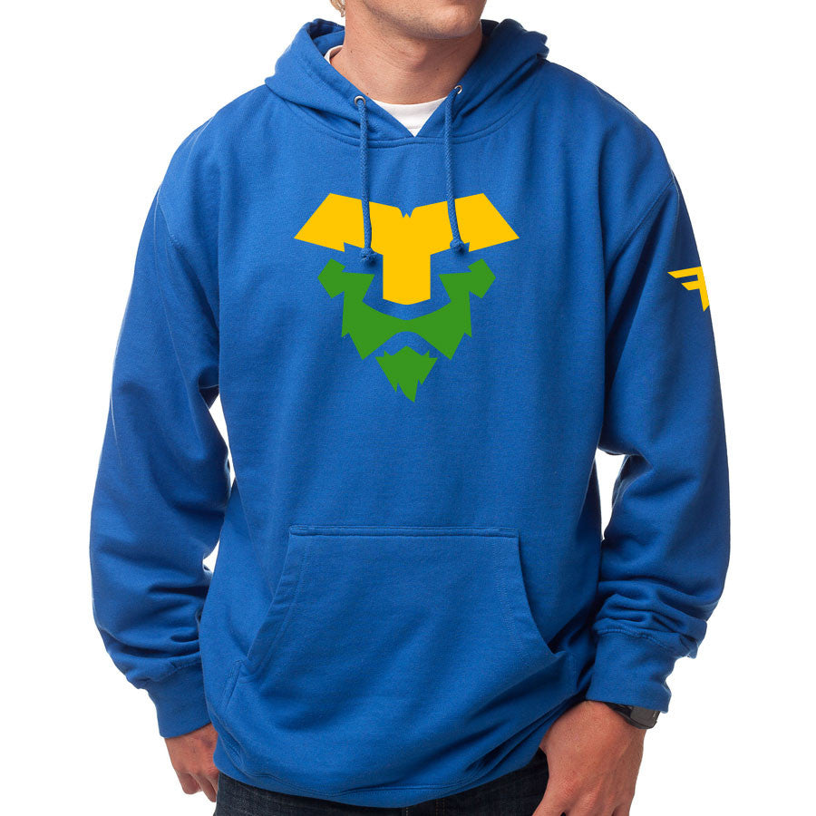 Temperrr Lion Hoodie - YelGrn on Ryl