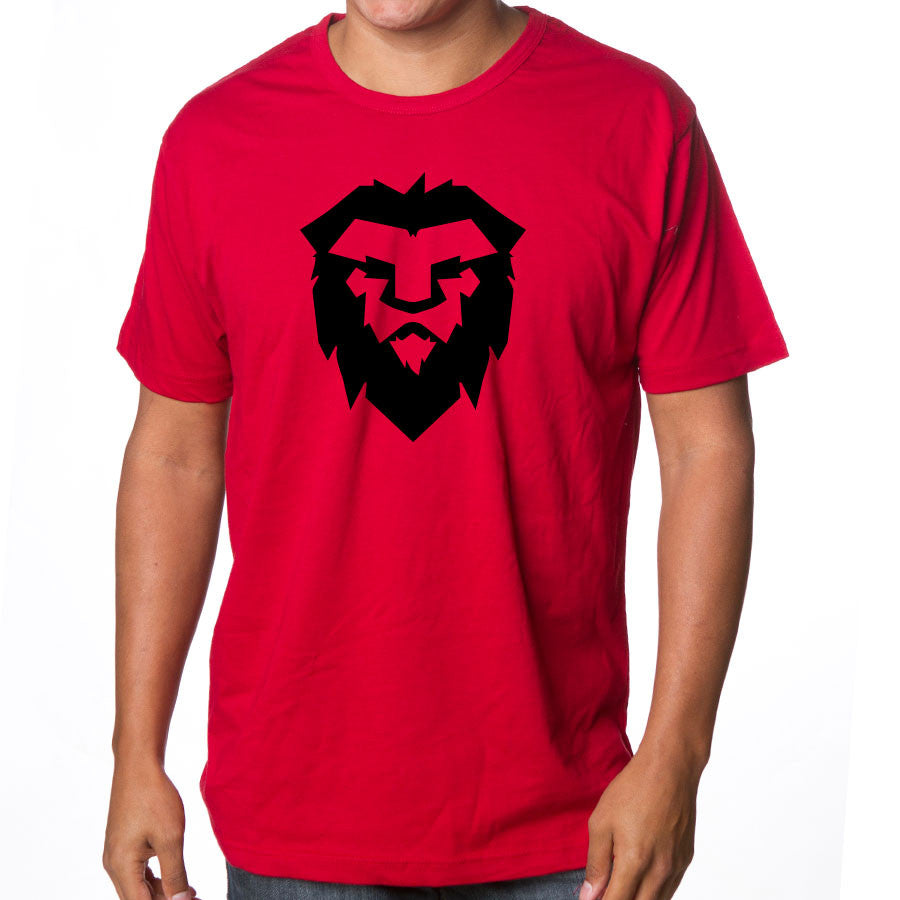 Temperrr Mane Short Sleeve - Blk on Red