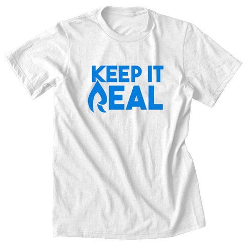 Rain Keep It Real Short Sleeve - NBlu on Wht