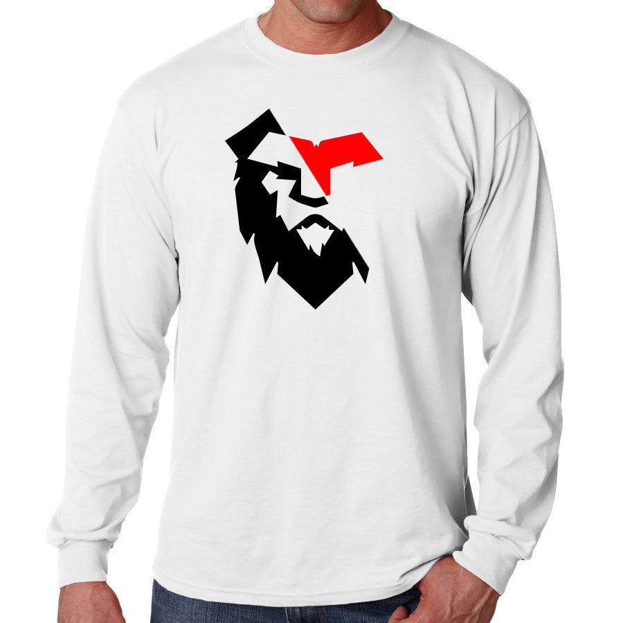 Temperrr Noble Long Sleeve - RedBlk on Wht